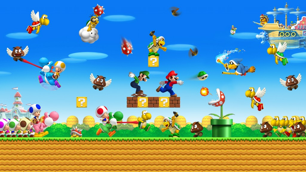 Mario Goes Old School With Free Download For Nintendo 3DS | GamerHub TV