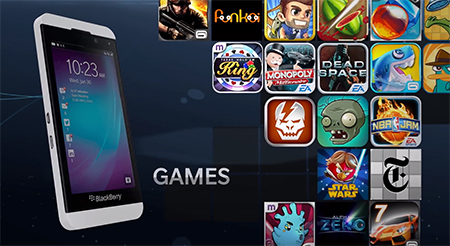 Unity Games Coming To New Blackberry 10 | GamerHub TV