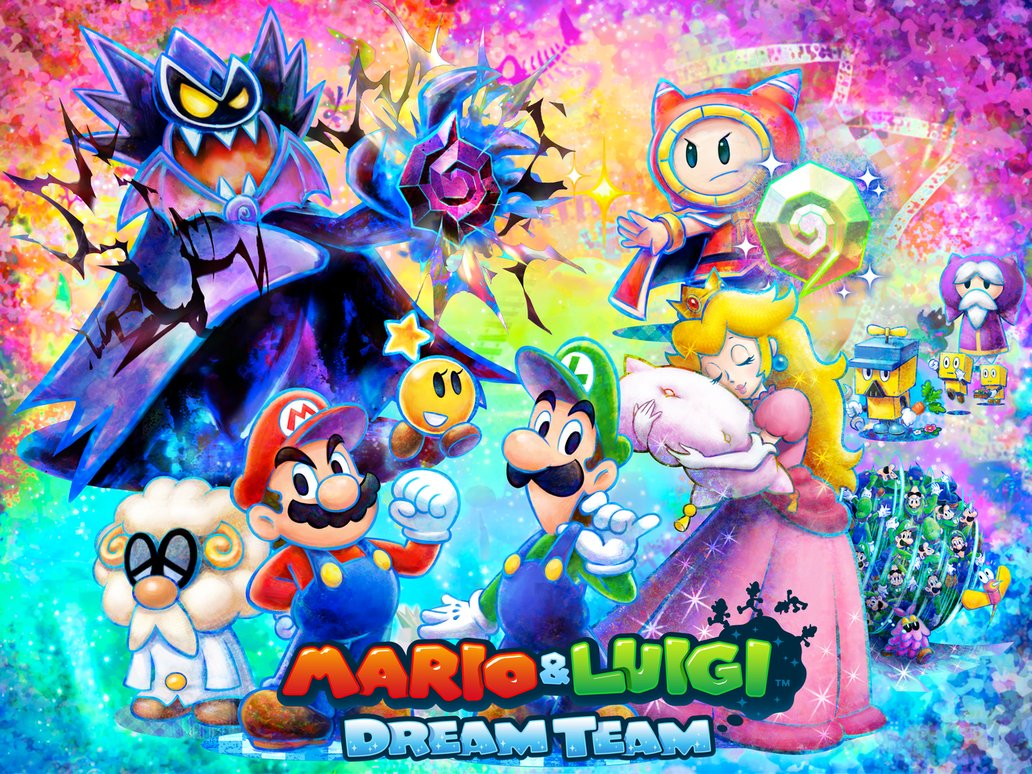 Mario Luigi Dream Team Is A Sweet Treat For Rpg Fans Gamerhub Tv